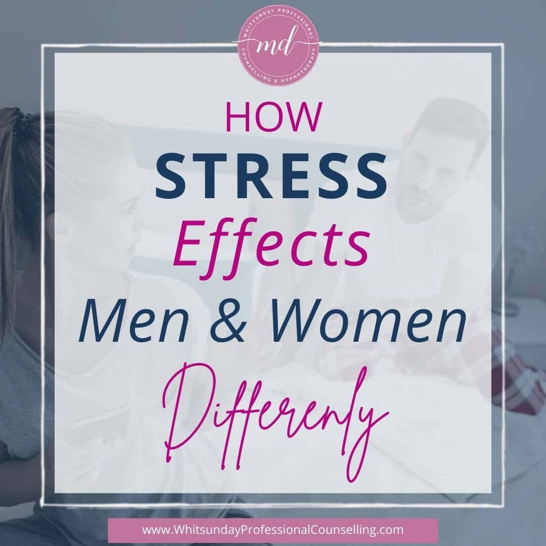 stress effects men and women differently